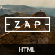 ZAP - Multi-Purpose HTML5 Template Nulled