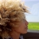A Young Black Woman Driving A Cabriolet In Summer - VideoHive Item for Sale