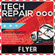 Tech Repair Center Flyer - GraphicRiver Item for Sale