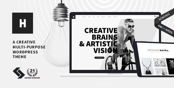 Heli – Creative Multi-Purpose WordPress Theme