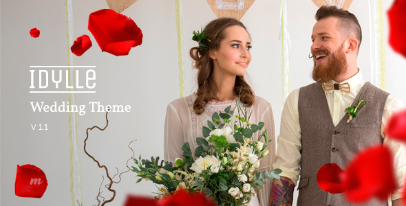 Idylle – Responsive Wedding Theme