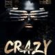 Crazy Black Party Flyer  - GraphicRiver Item for Sale