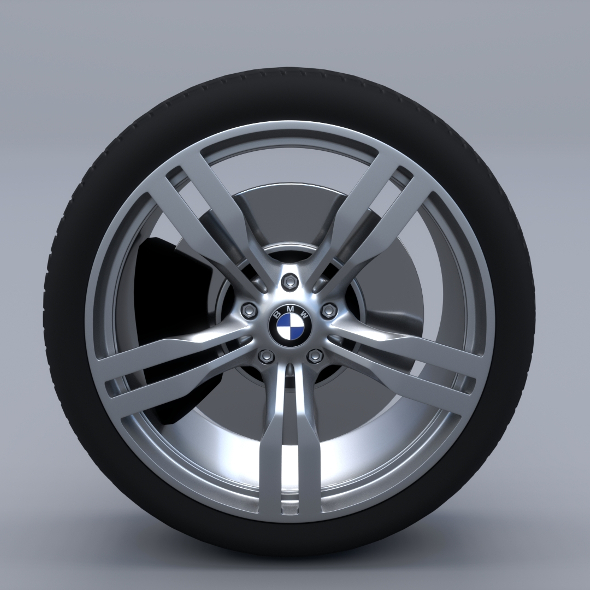 BMW G11 Wheel - 3DOcean Item for Sale