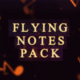 Flying Notes Pack - VideoHive Item for Sale