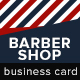 Barber Shop Business Card - GraphicRiver Item for Sale