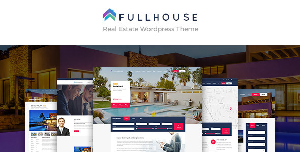 FullHouse – Real Estate Responsive WordPress Theme