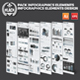 Black Pack Infographics Design - GraphicRiver Item for Sale