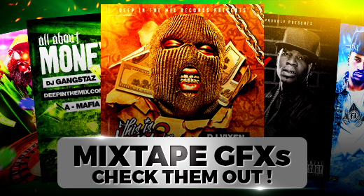 Mixtape Cover Templates PSD