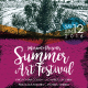 Summer Art Festival Flyer