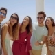 Group Of Young Friends On Vacation Taking a Selfie - VideoHive Item for Sale