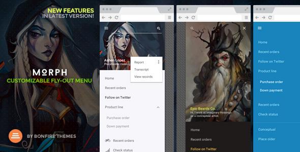 Morph: Flyout Mobile Menu for WordPress