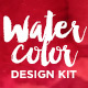 Watercolor Design Kit - Photoshop Styles - GraphicRiver Item for Sale