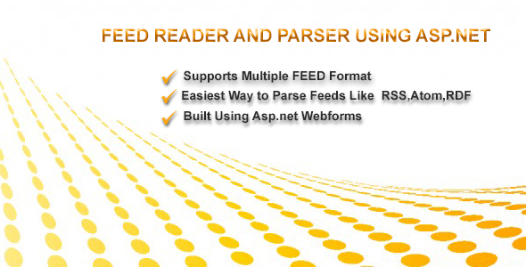 Feed Reader For RSS,ATOM and RDF using Asp.net - CodeCanyon Item for Sale