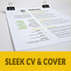 Sleek Resume & CV - GraphicRiver Item for Sale