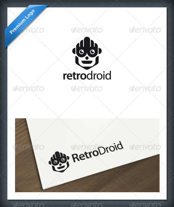 Android and Robot Logo Template - Objects Logo Templates