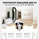 Photoshop Magazine Add V9 - GraphicRiver Item for Sale