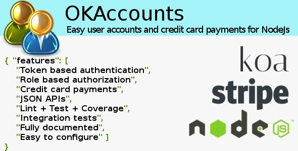 OKAccounts for NodeJS