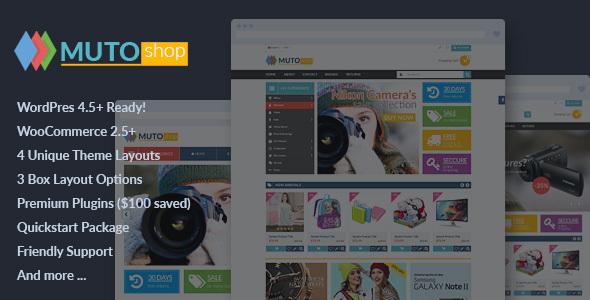 VG Muto – Mega Shop Responsive WooCommerce Theme