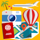 Travel Icons Collection - VideoHive Item for Sale