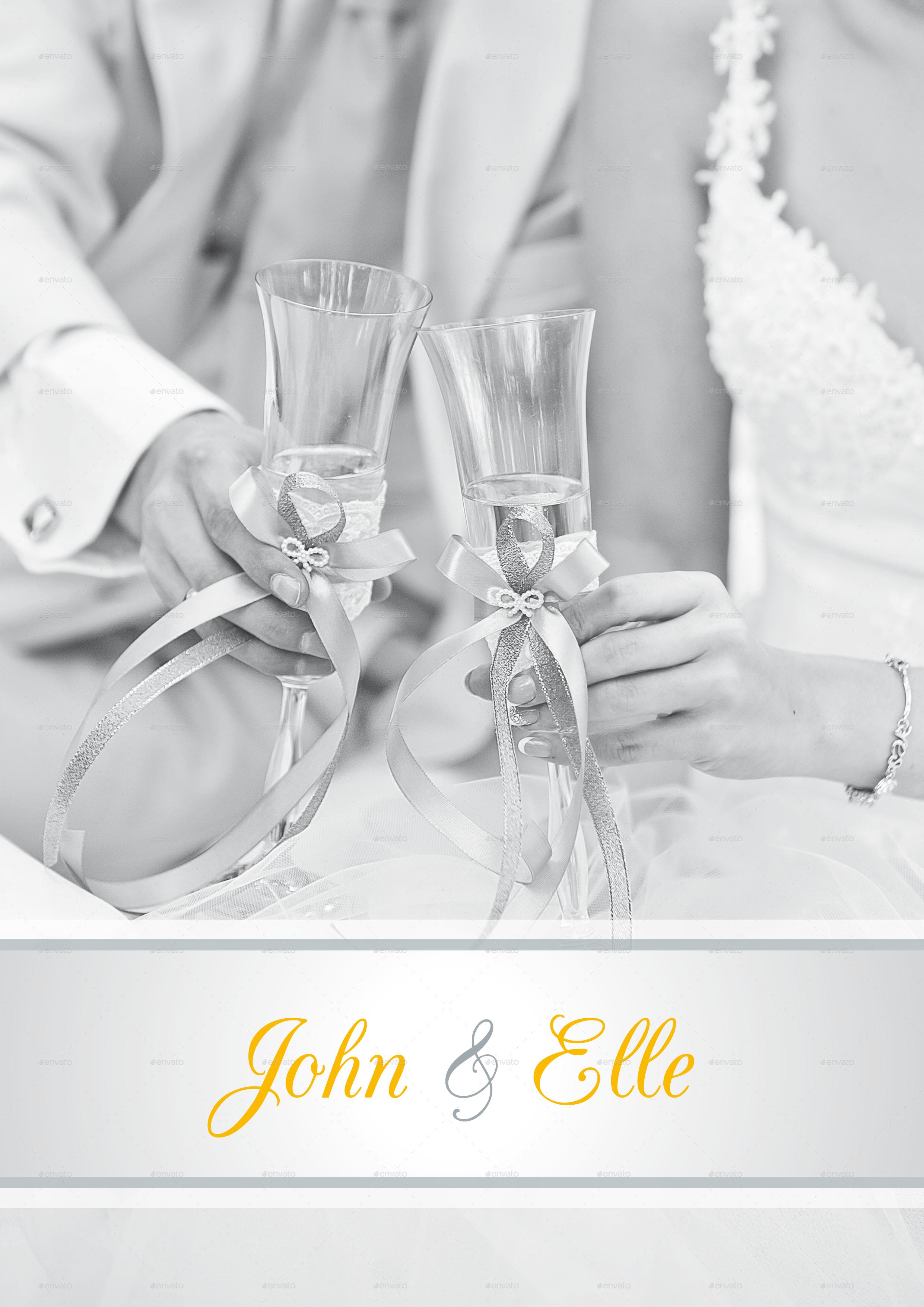Wedding Brochure by pranata | GraphicRiver