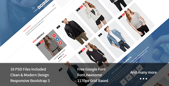 Macna - Creative Ecommerce PSD Template