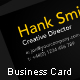 Black & Yellow Business Card - GraphicRiver Item for Sale