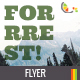Forrrest! Nature Hiking Flyer Template