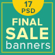 Final Sale Banners - GraphicRiver Item for Sale