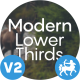 10+5 Modern Lower Thirds - VideoHive Item for Sale