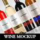 Wine Bottle Mock up - GraphicRiver Item for Sale