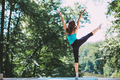 Yoga, balance, meditation.