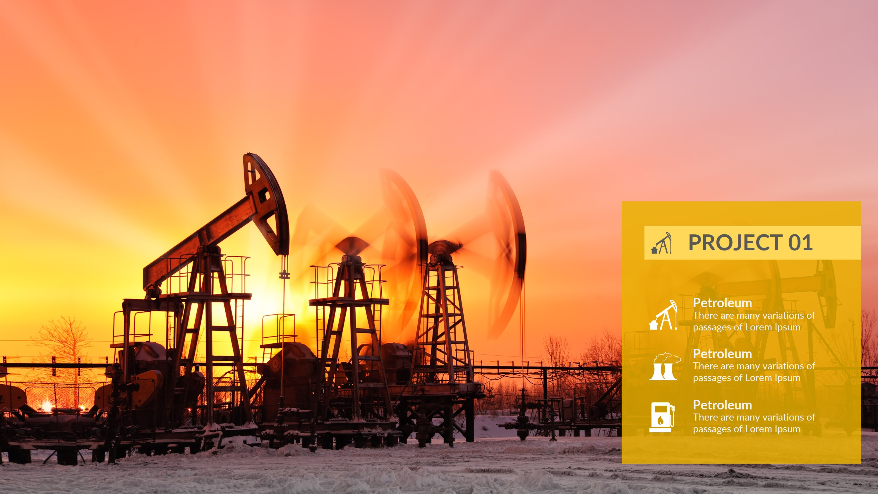 Petroleum Powerpoint Presentation Template
