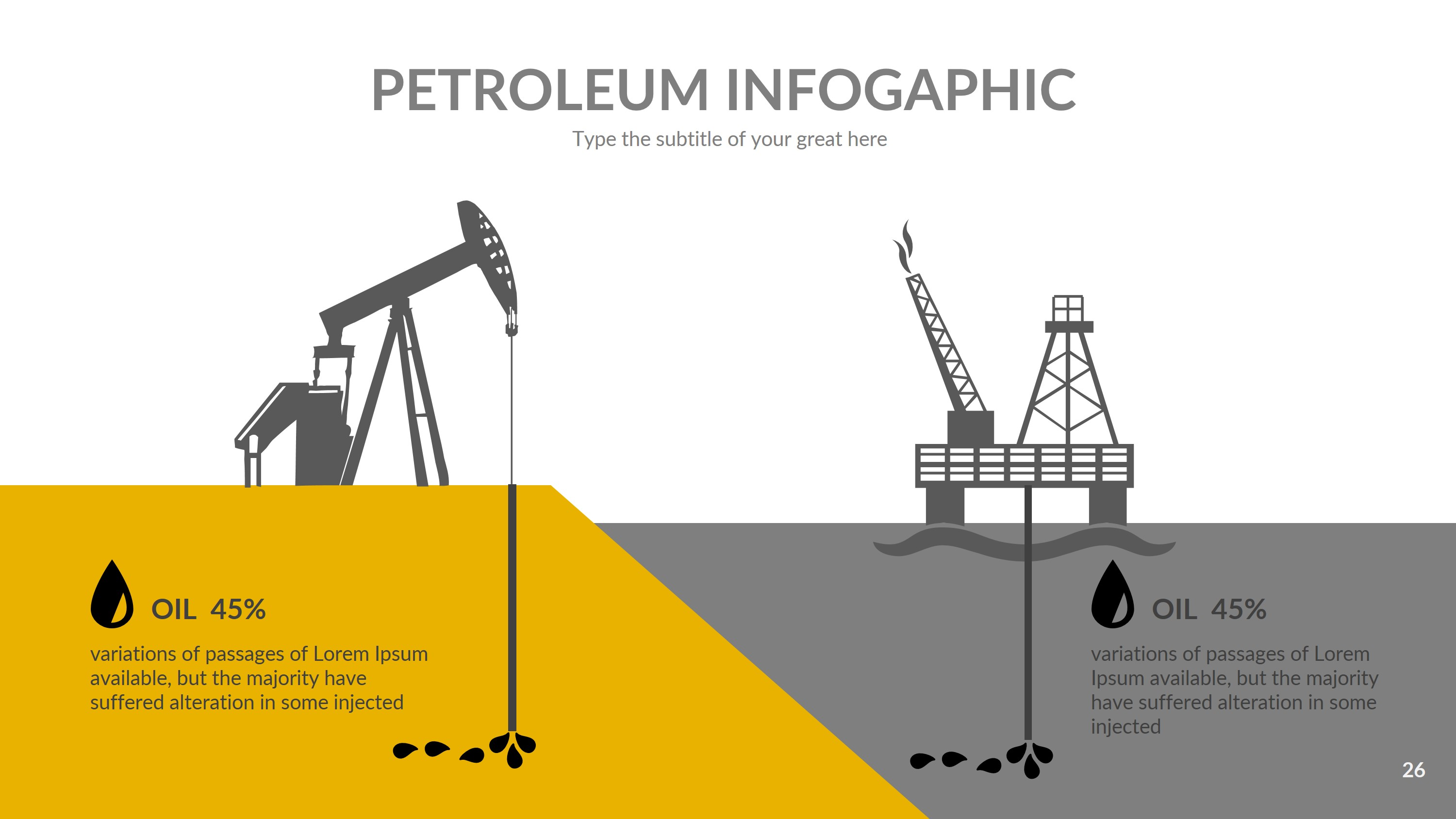 petroleum powerpoint presentation templaterengstudio, Presentation templates