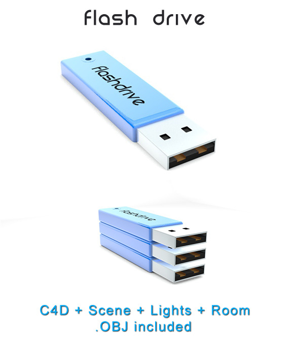 Flash Drive - 3DOcean Item for Sale