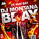 Dj Bday Flyer Template - GraphicRiver Item for Sale