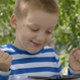 Cute Little Boy Using A Tablet And Wins A Game - VideoHive Item for Sale