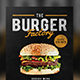 Burger Factory Menu Front - GraphicRiver Item for Sale
