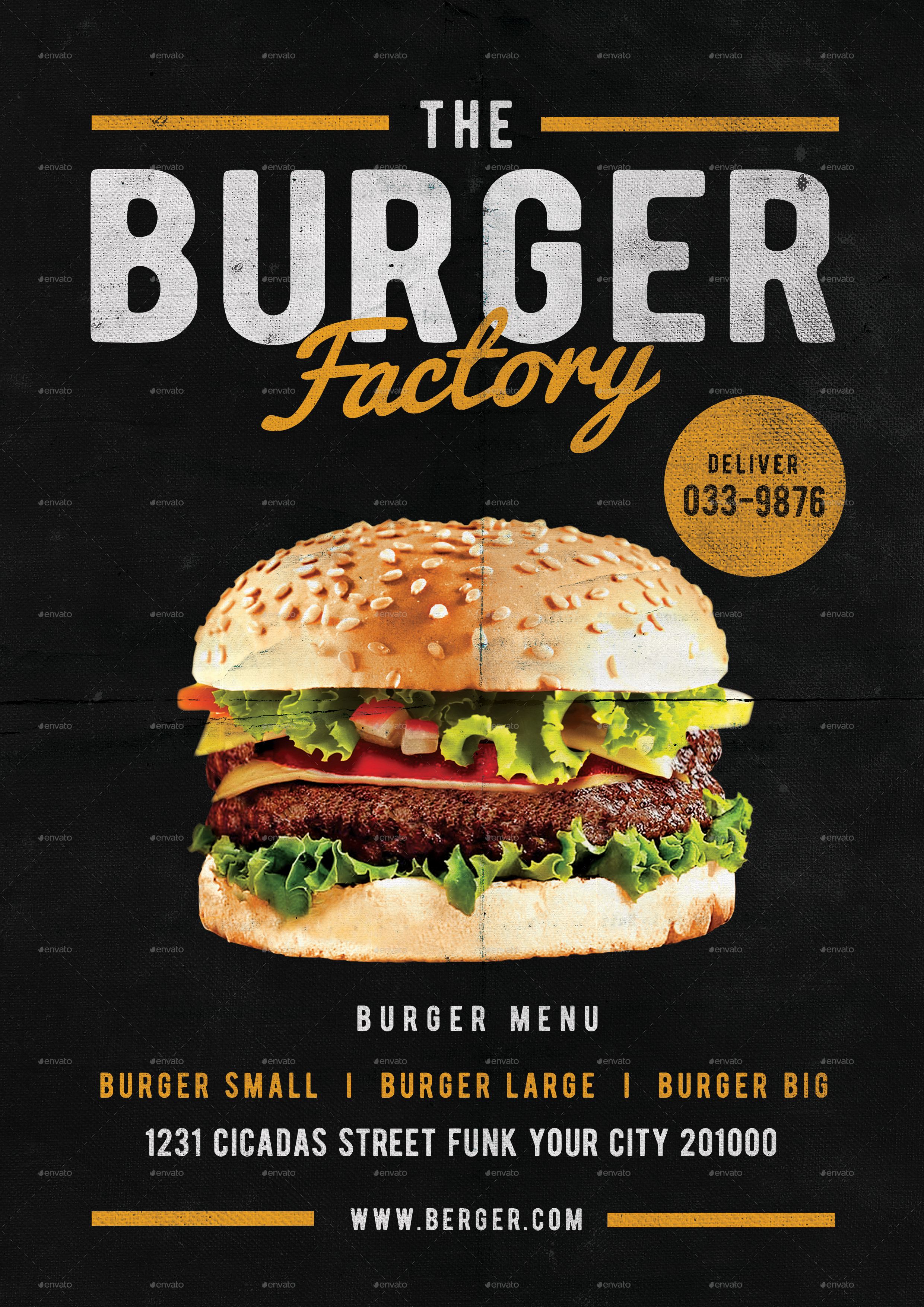 burger factory menu front by lilynthesweetpea