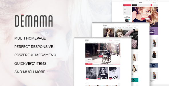 ST Demama – Shopify Template
