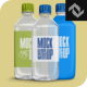 Plastic Water Bottle Mockup - GraphicRiver Item for Sale