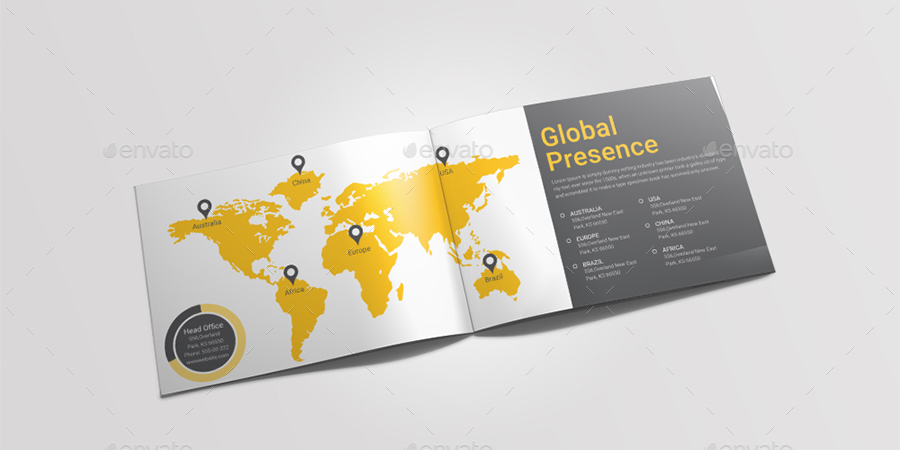 A5 Landscape Content Marketing Brochure By Dotnpix | Graphicriver