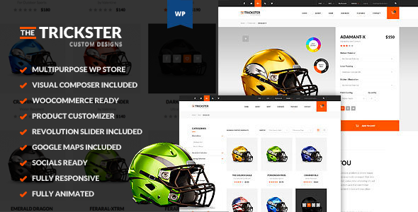The Trickster - Multipurpose WP Product Builder