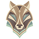 Wolf Head Abstract Vector Design - GraphicRiver Item for Sale