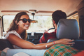 Couple in a car going on roadtrip - PhotoDune Item for Sale