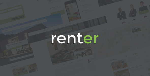 Renter — Rent/Sale Real Estate Agency Responsive WordPress Theme