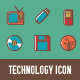 Technology Icon - GraphicRiver Item for Sale