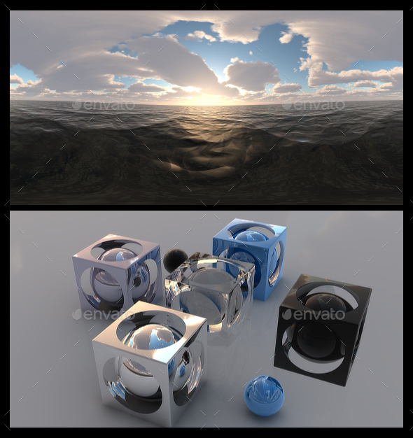 Cloudy Ocean Day 5 - HDRI - 3DOcean Item for Sale