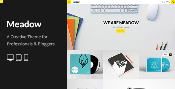 Meadow: Deluxe Portfolio Theme