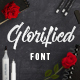 Glorified Script Font - GraphicRiver Item for Sale