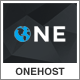 Onehost - One Page Responsive Hosting Template Nulled